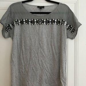 JCrew Embellished T-shirt